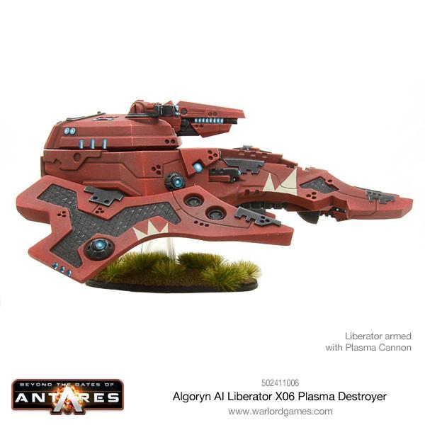 Beyond the Gates of Antares: Algoryn Liberator with Plasma Destroyer image