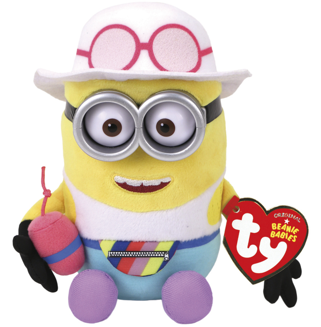 Ty Minions: Jerry Tourist - Themed Plush
