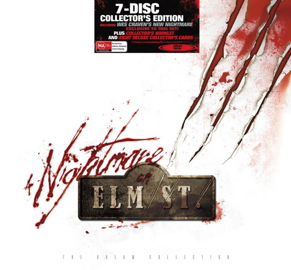 Nightmare On Elm Street, A - The Dream Collection: Collector's Edition (7 Disc Box Set) on DVD image