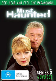 Most Haunted - Complete Series 5 (4 Disc Set) on DVD image