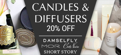 20% off Select Candles & Diffusers!