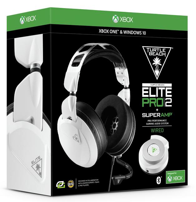 Turtle Beach Elite Pro 2 + Superamp Gaming Headset - White for Xbox One