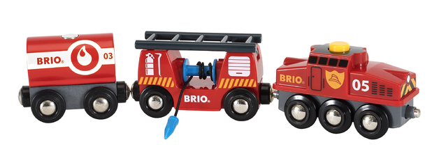 Brio: Railway - Rescue Firefighting Train
