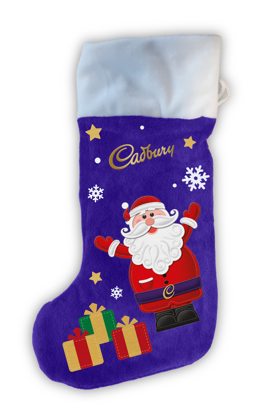Cadbury: Christmas Plush Stocking (181g)