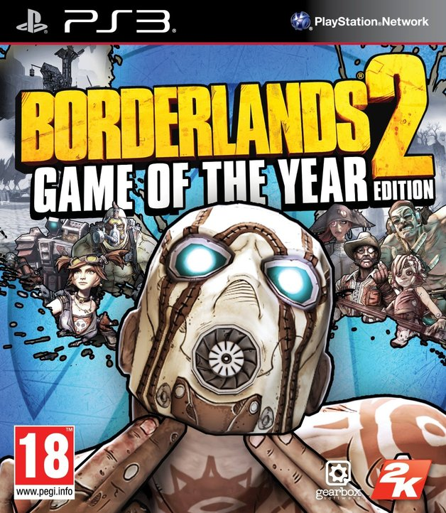 Borderlands 2 Game of the Year Edition for PS3
