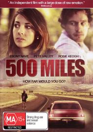 500 Miles on DVD