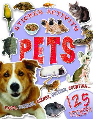 Sticker Activity Pets