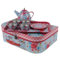 Tiger Tribe: Vintage Tea Set Rose Garden