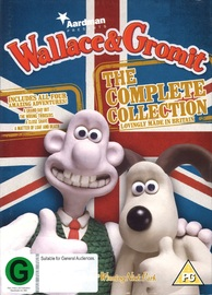 Wallace and Gromit: The Complete Collection - 20th Anniversary on DVD