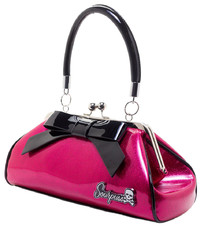 Sourpuss: Sourpuss: Glitter Floozy Purse (Hot Pink)