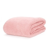 Snug-Rug Sherpa Throw Blanket - Pink Quartz