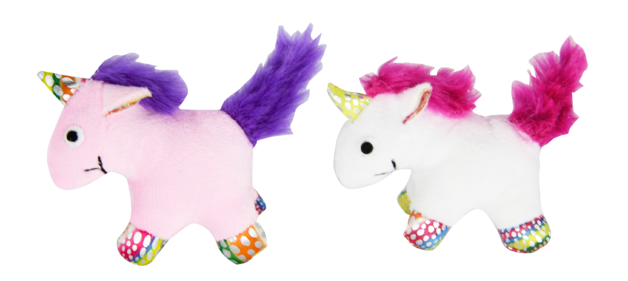 Pawise: Cat Toy - Unicorn with Catnip (Assorted)