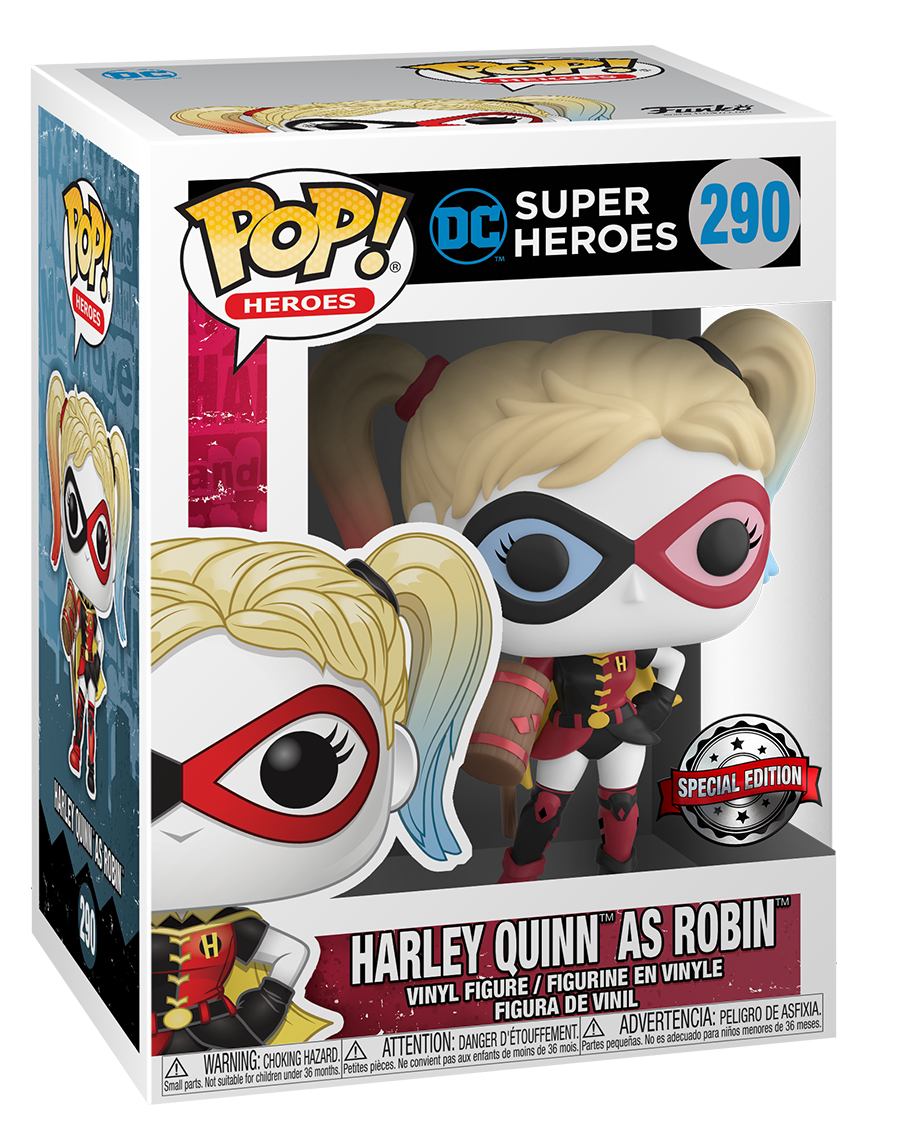 Harley Quinn (as Robin) - Pop! Vinyl Figure image