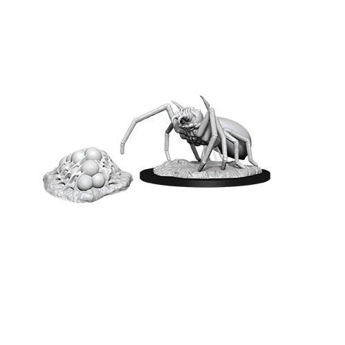 D&D Nolzur's Marvelous: Unpainted Miniatures - Giant Spider & Egg Clutch