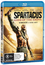Spartacus: Gods of the Arena on Blu-ray