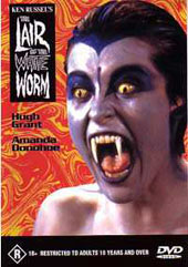 Lair of the White Worm on DVD