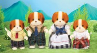 Sylvanian Families: Chiffon Dog Family