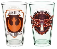 Star Wars: Rebel Glass Tumbler - 16 oz.