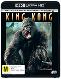 King Kong (4K UHD + Blu-ray) DVD