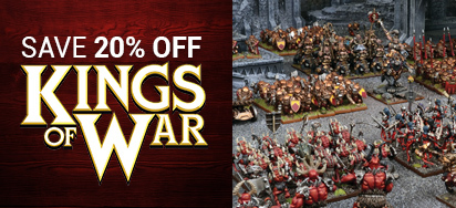 20% off Kings of War