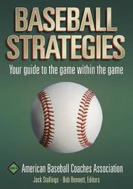 Baseball Strategies by Jack Stallings