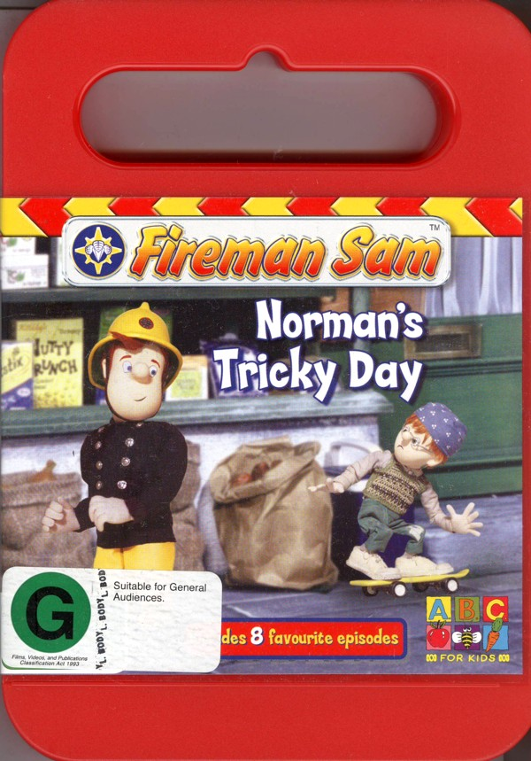 Fireman Sam - Norman's Tricky Day on DVD image
