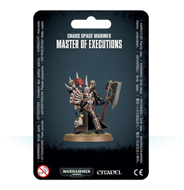 Warhammer 40,000: Chaos Space Marines - Master of Executions