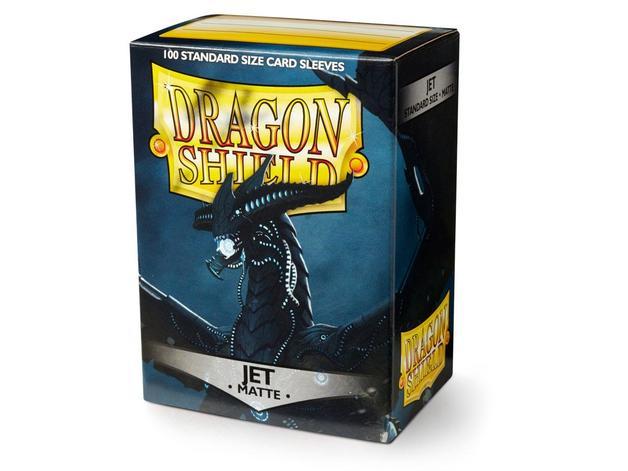 Dragon Shield Matte Jet Sleeves