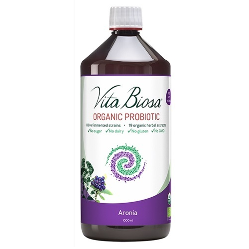 Vita Biosa Organic Probiotic Bottle - Aronia (1 Litre)