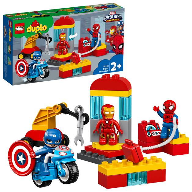 LEGO DUPLO: Super Heroes Lab (10921)