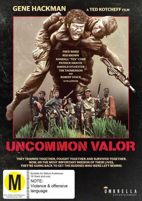 Uncommon Valor - Combat Classics on DVD