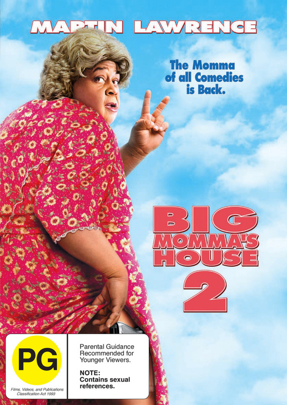 Big Momma's House 2 on DVD