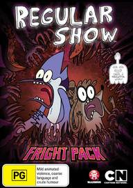 Regular Show: Fright Pack on DVD