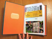 Travel Stub Diary by Eric Epstein
