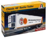 Italeri: 1:24 Classic 40' Reefer Trailer - Model Kit