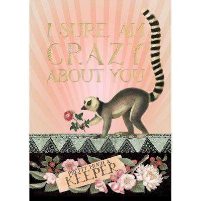 Meerkat Keeper Foil - Greeting Card