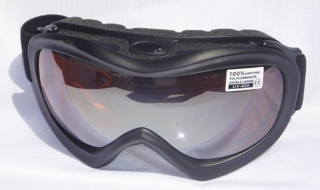 Mountain Wear Adult Goggles: Black (G1474D)
