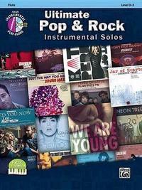 Ultimate Pop Instrumental Solos: Flute, Book & CD by Alfred Publishing