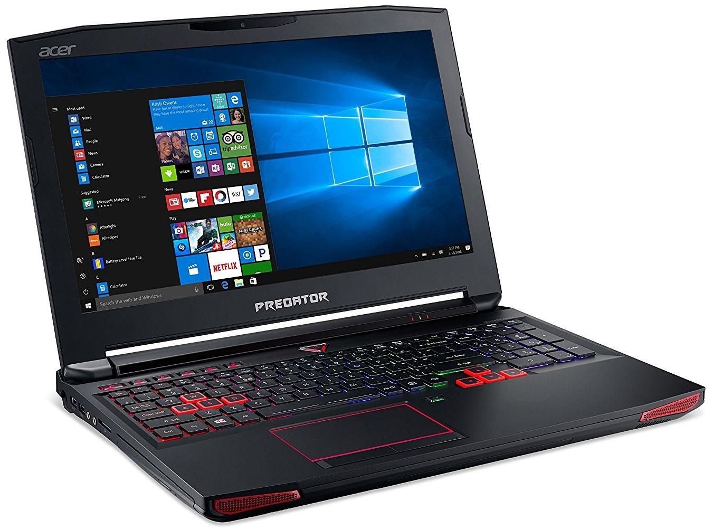 "Acer Predator 15 G9-593-71J0 15.6"" Gaming Laptop Intel Core i7-7700HQ, 16GB RAM, GTX 1070 8GB image"
