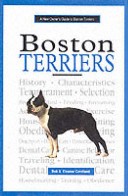 New Owner's Guide to Boston Terriers by Bob Candland image