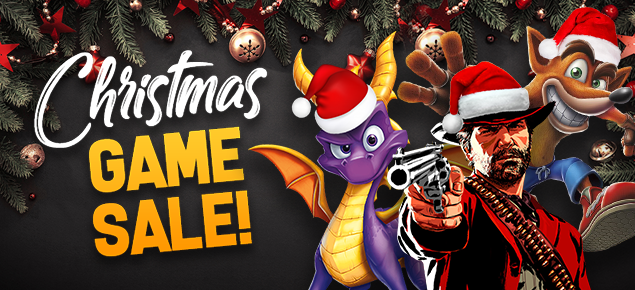 Christmas Game Sale