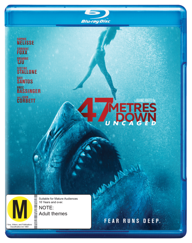 47 Meters Down: Uncaged on Blu-ray