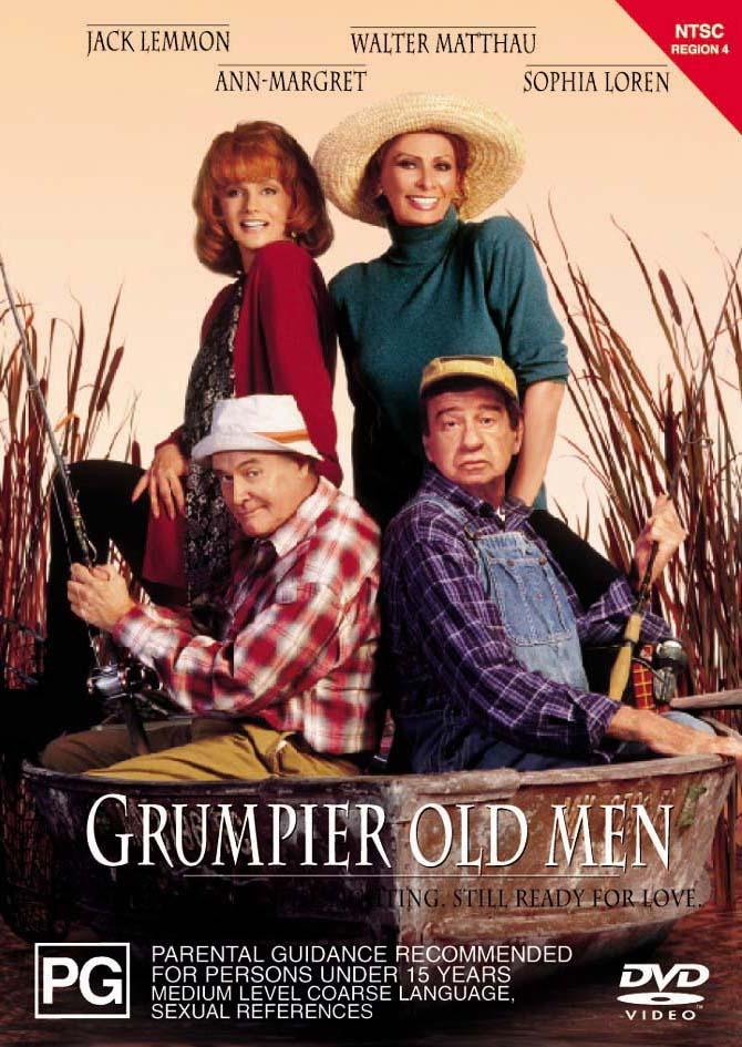 Grumpier Old Men on DVD image