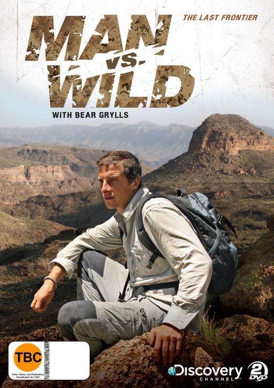 Man Vs Wild - Season 4 Collection 1: The Last Frontier (2 Disc Set) on DVD