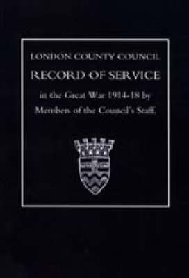L.C.C.Record of War Service
