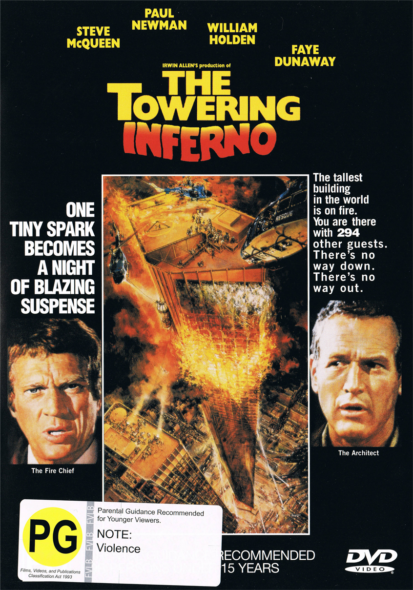 Towering Inferno on DVD image