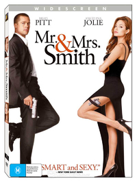 Mr. & Mrs. Smith on DVD