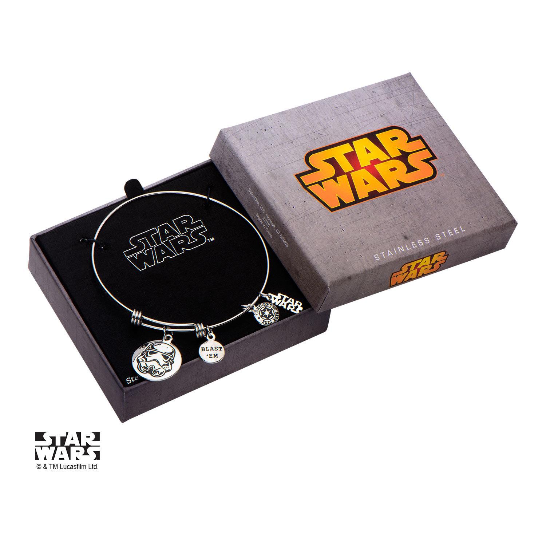 Star Wars Stormtrooper Stainless Steel Expandable Bracelet image