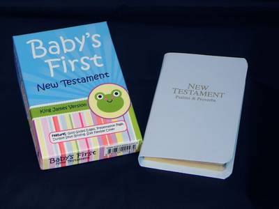 Baby's First New Testament-KJV image