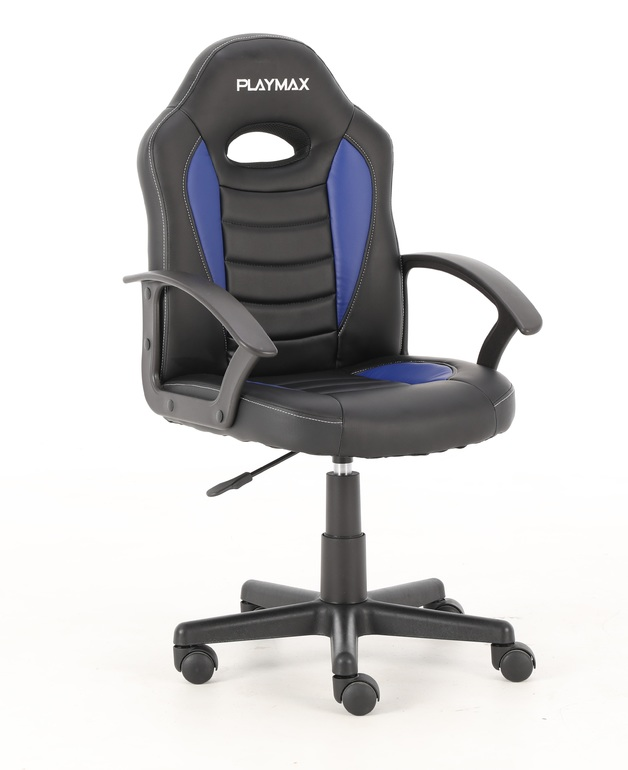 Playmax Kids Gaming Chair - Blue and Black for